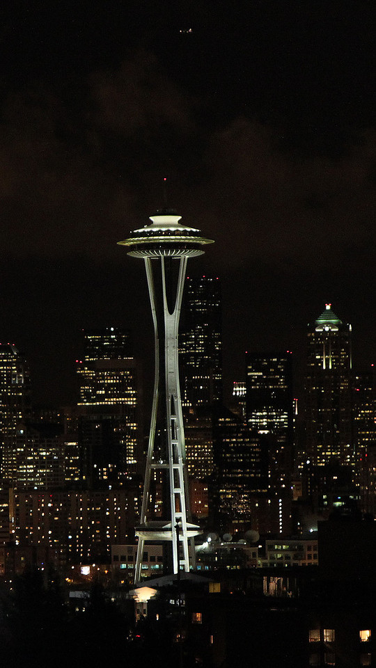 Space Needle view from Kerry Park, Queen Anne Hill, Seattle