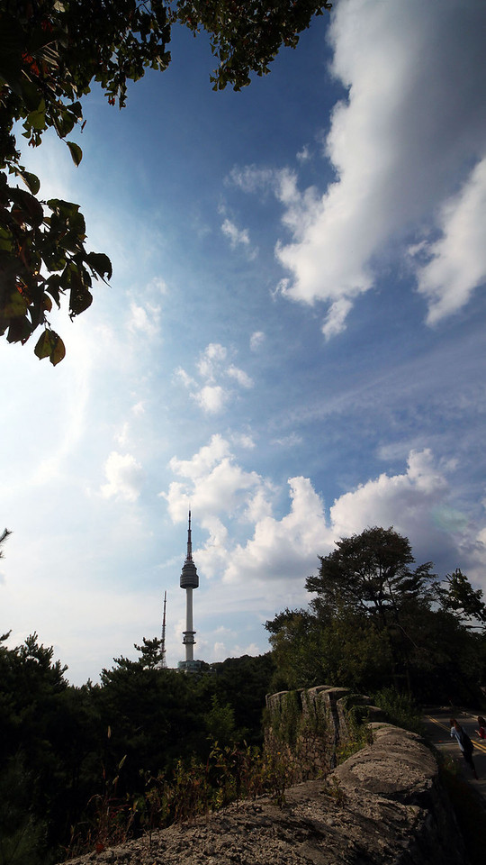 Late summer at Namsan, Seoul