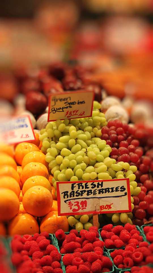 Fruits at Pike's Place Market, Seattle